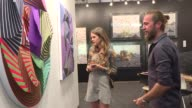 The VIP opening of the 12th Contemporary Istanbul an international contemporary art fair is held on September 13 2017 in Istanbul Turkey The 12th...