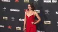 CLEAN 'The Walking Dead Season 5' Los Angeles Premiere at AMC Universal City Walk on October 02 2014 in Universal City California