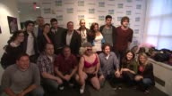 The Wanted and the Z100 crew at The Wanted Visits Elvis Duran's Z100 Morning Show on in New York