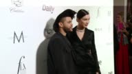 The Weekend and Bella Hadid at the The Daily Front Row Hosts 2nd Annual Fashion Los Angeles Awards at Sunset Tower on March 20 2016 in West Hollywood...