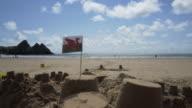 The Welsh Dragon Flag