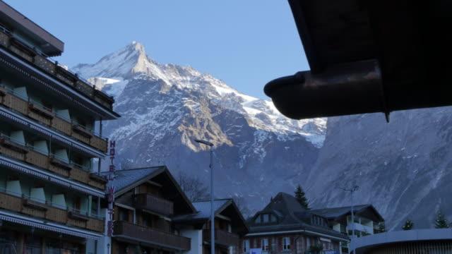The Wetterhorn, Grindelwald, Jungfrau region, Bernese Oberland, Swiss Alps, Switzerland, Europe
