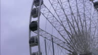 The Wheel of Belfast in close up, Northern Ireland