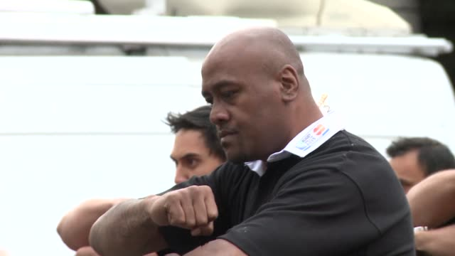 The World Cup is a 'beast' but New Zealand are capable of becoming the first team to win backtoback titles All Blacks legend Jonah Lomu tells AFP...