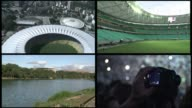 The World Cup will be played in 12 host arenas six of which were delivered for the Confederations Cup in June CLEAN Stock shots of six Brazilian...