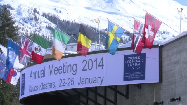 The World Economic Forum opened in Davos on Wednesday CLEAN World Economic Forum opens in Davos on January 22 2014 in Davos Switzerland