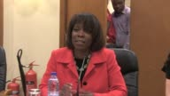 The World Food Programmes Executive Director Ertharin Cousin visited camps for displaced people in the Central African Republic on Thursday and...