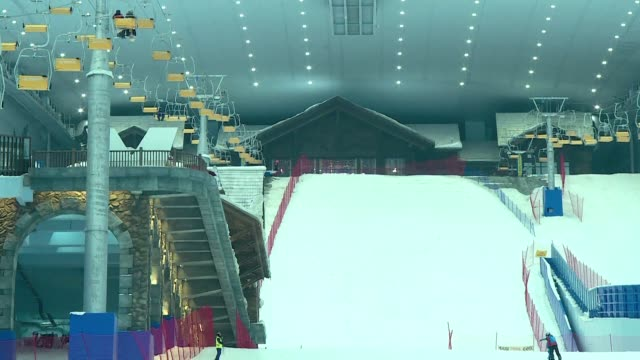 The world's largest indoor ski park is in Harbin China which has ambitions to turn itself into a winter sports powerhouse ahead of the 2022 Winter...