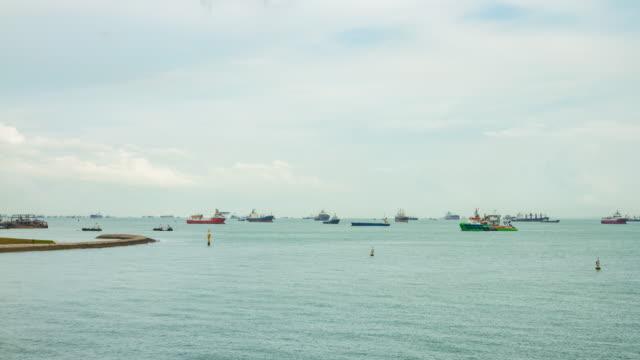 4 K ZEITRAFFER: The world's port (APPLE ProRes. 422 (HQ) 4.096 x 2.160 FORMAT).