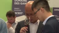 The world's wine industry converge as the prestigious Vinexpo kicks off in Bordeaux the capital of French viticulture with Chinese visitors leading...