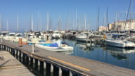 The yacht port in Syracuse, Sicily