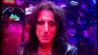 Alice Cooper joins cast of 'Rock Of Ages' for a night Alice Cooper interview with reporter intermittently in shot SOT Cooper reporter and Shayne Ward...