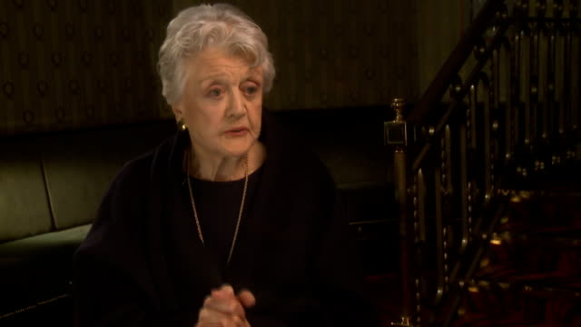 Angela Lansbury to appear in 'Blithe Spirit' Lansbury interview SOT On playing Madame Arcati