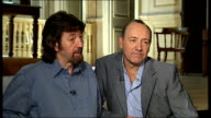 Kevin Spacey and Trevor Nunn interview **Low audio levels throughout** ENGLAND London Waterloo INT Kevin Spacey interview SOT Have admired play for a...