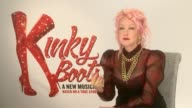 'Kinky Boots' opens in West End Cyndi Lauper interview SOT