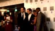 Laurence Olivier Awards 2010 Jude Law photocall with group of actors including playwright Katori Hall