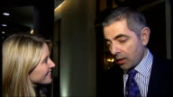 New production of musical 'Oliver' Rowan Atkinson interview SOT