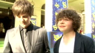 'Shrek the Musical' premiere arrivals and interviews Tyger Drew Honey and Daniel Roche red carpet interview SOT favourite Shrek characters and latest...