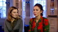 'Uncle Vanya' at the Vaudeville Theatre Reporter asking question SOT Anna Friel interview alongside Carmichael SOT Friel and Carmichael chatting to...