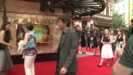 World premiere of 'Harry Potter and the Cursed Child' in West End Red carpet arrivals and interviews Sadiq Khan and wife Saadiya Khan arriving /...