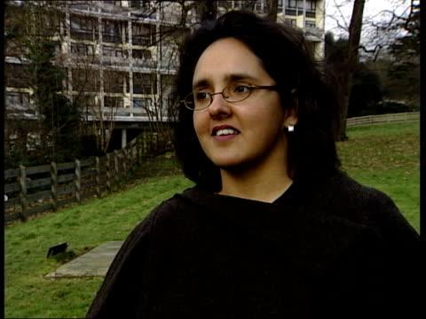 Twenty stolen in six months ENGLAND Roehampton University Dr Dorothy Rowe interview SOT Foolish act gratuitous vandalism
