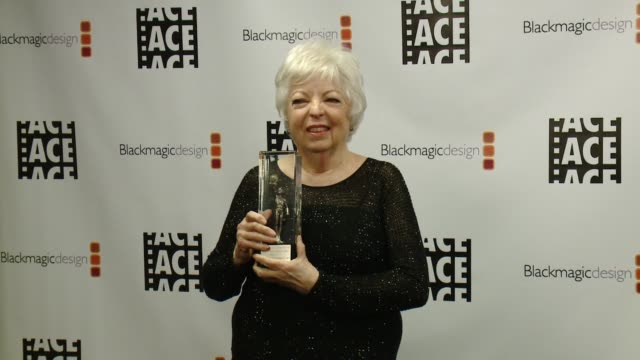Thelma Schoonmaker at 67th Annual ACE Eddie Awards in Los Angeles CA