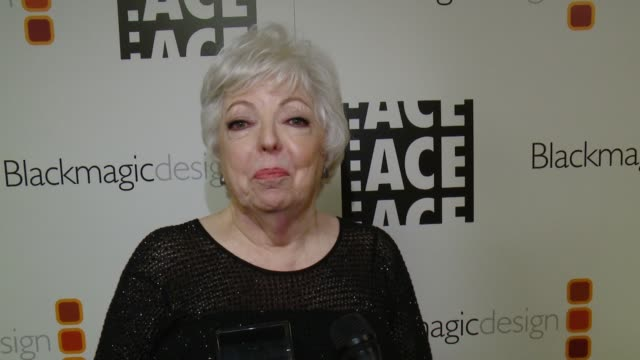 INTERVIEW Thelma Schoonmaker in her career achievement honor tonight On her working relationship with Martin Scorsese at 67th Annual ACE Eddie Awards...