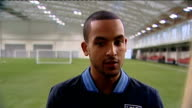 Theo Walcott ahead of Brazil friendly ENGLAND Derbyshire BurtonUponTrent St George's Park INT Theo Walcott interview SOT Important to get a win at...