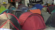 There have been calls for police to clear the anticapitalist protesters camped outside St Paul's cathedral after thermal imaging appeared to show...