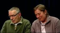 Theresa and David Yeates emotional at press conference SOT