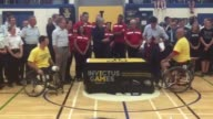 Theresa May and Justin Trudeau meet Invictus Games athletes and exchange squad jackets Prime Minister Theresa May has travelled to Canada for talks...