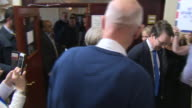 Theresa May being greeted by supporters in Dudley