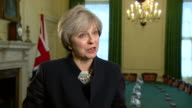 Theresa May criticising Nicola Sturgeon's call for a second independence referendum saying 'politics is not a game'