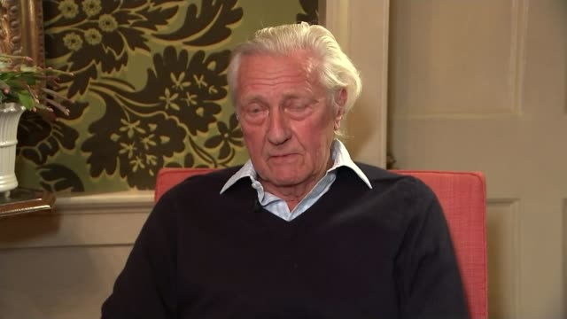 Theresa May fights off pressure to resign as receives backing of senior politicians Location unknown INT Lord Heseltine interview SOT
