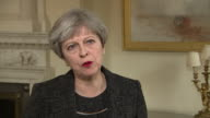 Theresa May saying firefighters told her the Grenfell Tower spread rapidly and it was 'unexpected and ferocious'