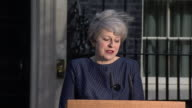 Theresa May saying her decision to call a snap General election was made 'recently and reluctantly' before challenging opposition parties to 'show...