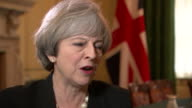 Theresa May saying her job as Prime Minister is to get the best deal for Scotland and the best deal for the UK and that she is saying to the SNP 'now...