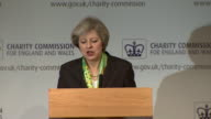Theresa May saying mental illness has 'for too long been something of a hidden injustice in our country and dangerously disregarded as secondary to...