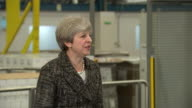 Theresa May saying pensioners are £1250 better off per year as a result of action the Conservative government has taken