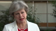 Theresa May saying she wants to ensure she gets a deal from Brexit negotiations and that she wants a deal that is 'the right deal for the United...
