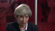 Theresa May saying she wants to ensure that the money the government makes available to victims of the Grenfell Tower fire actually gets through to...