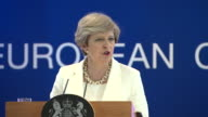 Theresa May saying the UK voted to leave the EU so they could have control over migration of people from the EU into the UK
