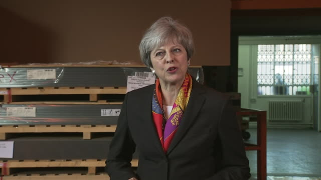 Theresa May saying 'this is not about who wins and who loses in the local elections it is about continuing to fight for the best Brexit deal for...