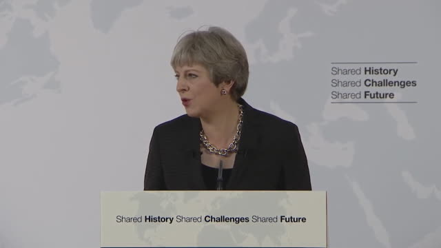 Theresa May says that EU citizens living in the UK are valued and thanks them for their contribution to UK national life saying 'it [is] one of my...