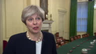 Theresa May says that the NHS blood scandal of the 1970s and 80s was 'an appalling tragedy and it should never have happened' and says that the...