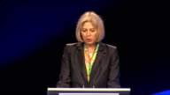 Theresa May speech to Police Superintendents' Association Conference ENGLAND Warwickshire Leamington Spa Association of Police Superintendents'...