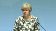 Theresa May talks about steps taken at the G20 Summit in Hamburg to address gender inequality