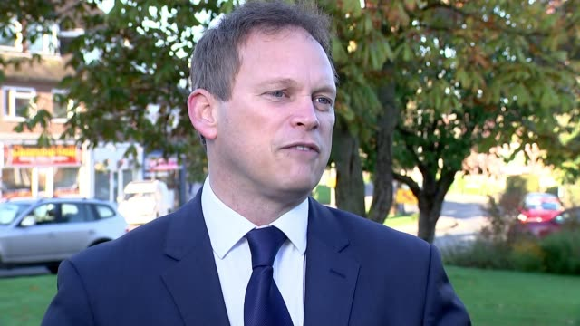Theresa May vows to carry on amid rumours of leadership challenge Hertfordshire Welwyn Garden City EXT Grant Shapps MP interview SOT if you look at...