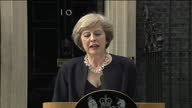 Theresa May will get the keys from Number Ten becoming Britain's second female leader after Margaret Thatcher Theresa May made her first statement as...