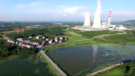 thermal power station in Fuzhou City, Jiangxi Province, China